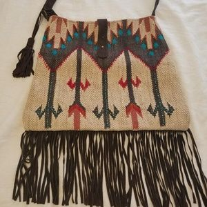 LOVE STITCH  - BOHO - SOUTHWEST INSPIRED TOTE BAG